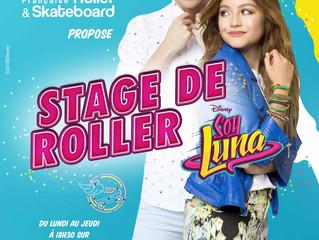 24 octobre 2018 : Stage roller soy luna