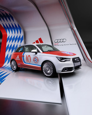 Audi + FC Bayer Stand