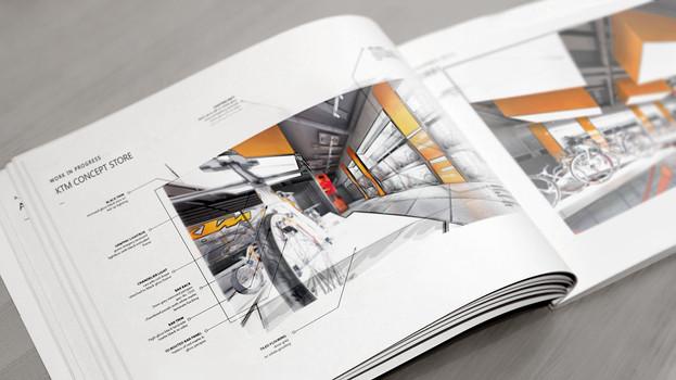 KTM Store Concept Book