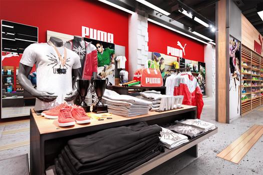 PUMA retail desgin