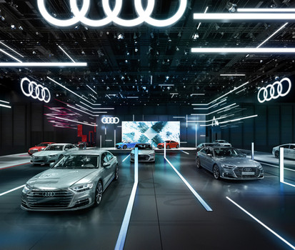 Audi USA motor show program
