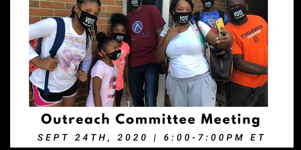 Outreach Committee Meeting
