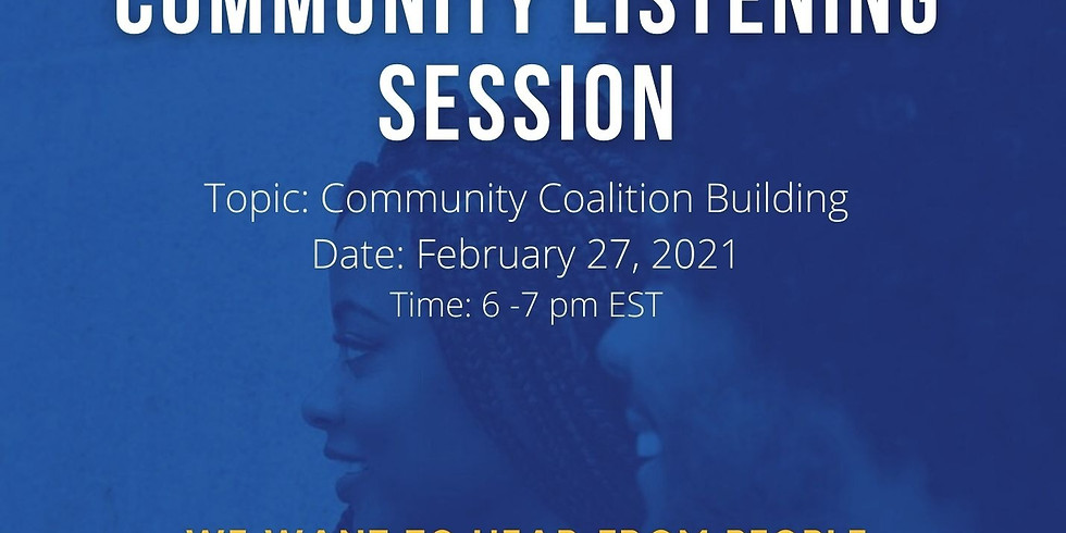Count US IN Community Listening Session