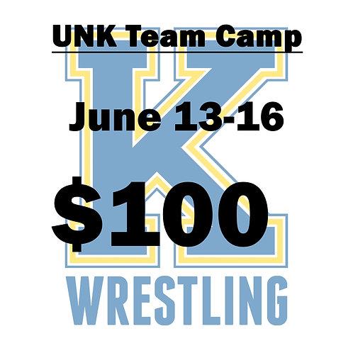 UNK Team Camp - 2021