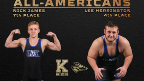Former Bearcats Nick James and Lee Herrington Become College All-Americans for UNK