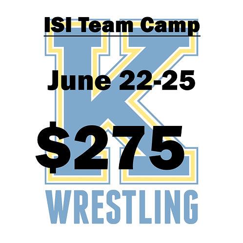 ISI Team Camp - 2021