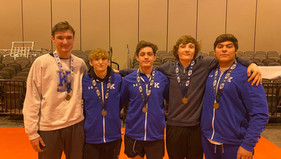 Bearcats Place Six at the State Wrestling Championships