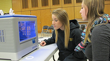 3D Printer Demonstration Amazes, Educates FCTS Students