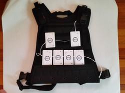 Mobile App Controlled NFC Vest!