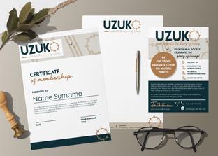 Uzuko corporate branding