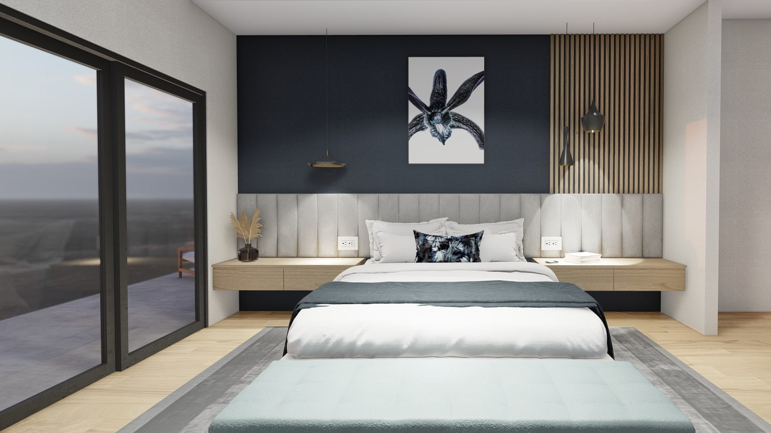Master bedroom option 1
