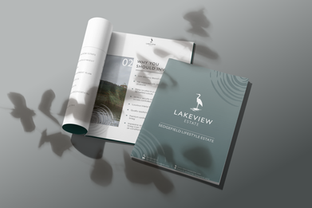 Lakeview Estate corporate identity