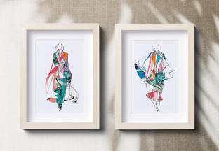 custom fashion art prints
