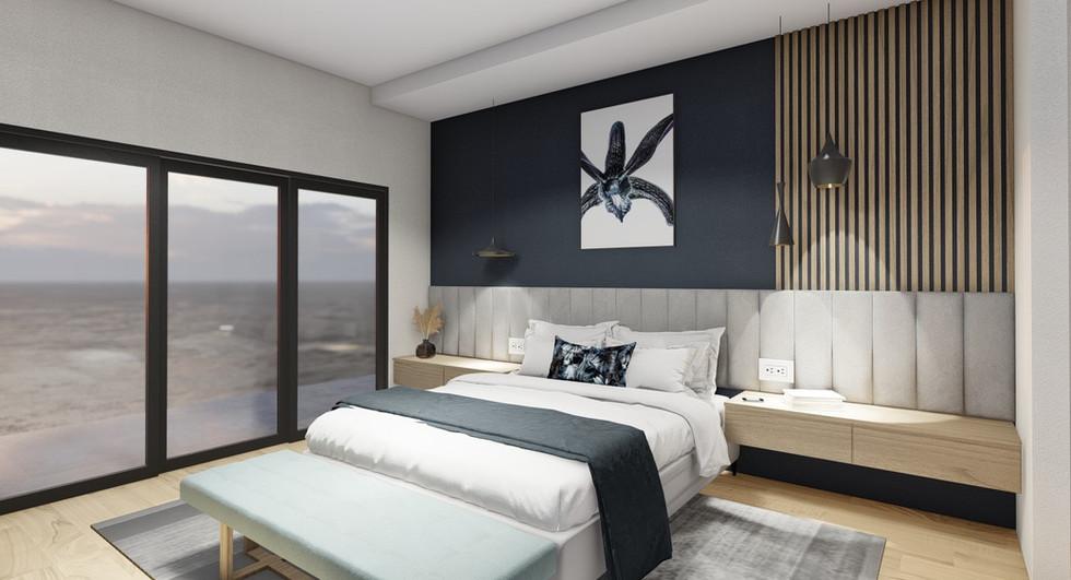 Master bedroom option 1