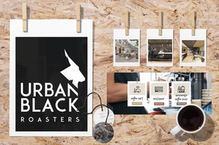 Urban black corporate branding