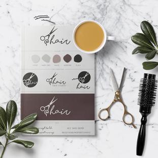 @Hair Corporate identity