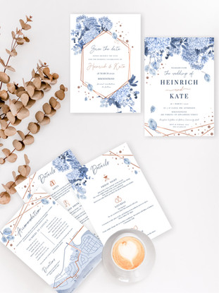 Bokness wedding stationary