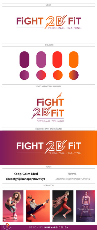 Branding Fight 2B Fit