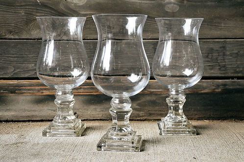 Glass Vase with Stem