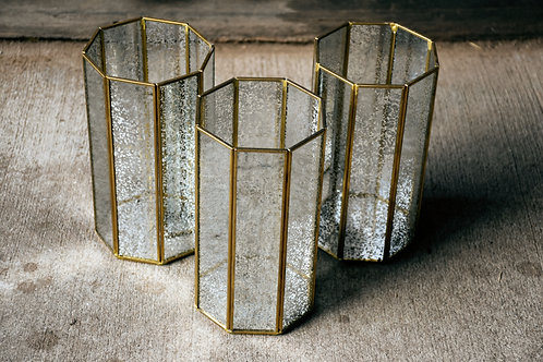 Gold Vintage Candle Holders