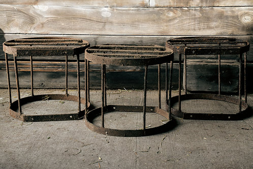 Rustic Metal Barn Decor