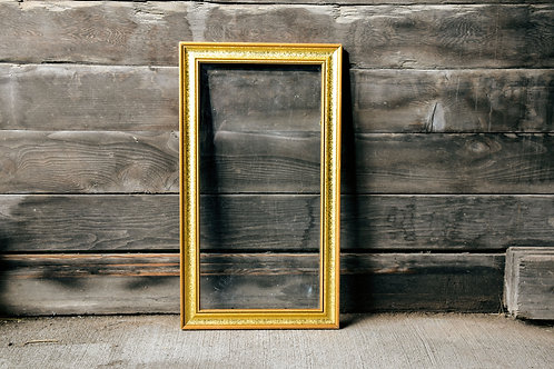 Tall Gold Frame