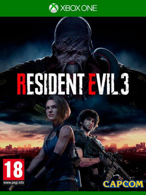 Resident Evil 3 digital Xbox One