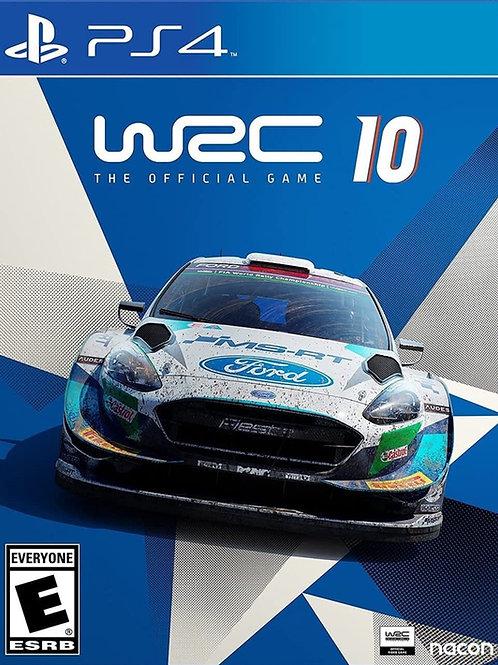 WRC 10 Ps4 digital