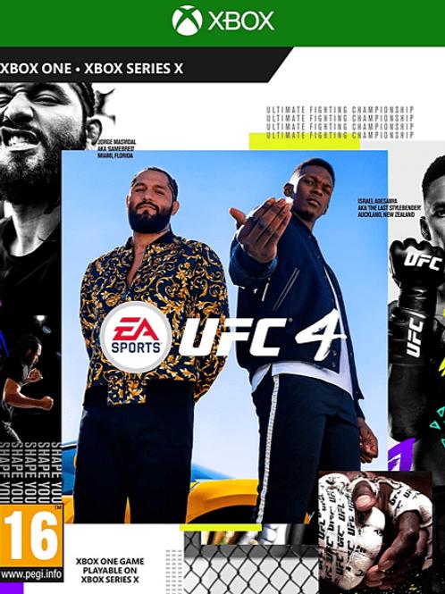 UFC 4 digital Xbox One