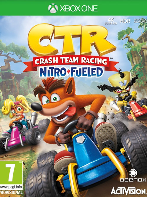 CTR Crash Team Racing Nitro Fueled  digital Xbox One