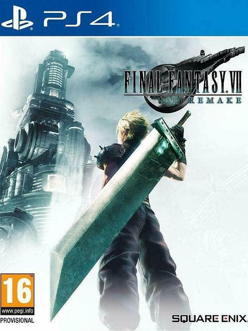 Final Fantasy VII Remake Ps4 digital
