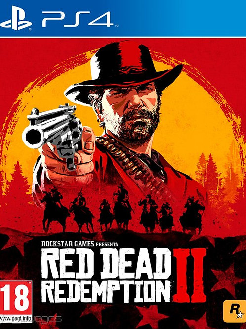 RED DEAD 2 Redemption digital ps4