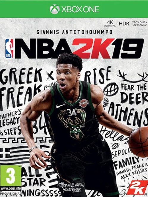 NBA 2K19 digital Xbox One