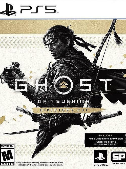 ghost of tsushima - PS5 digital