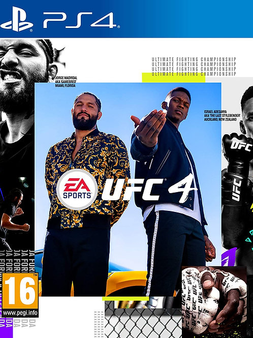 UFC 4 Ps4 digital