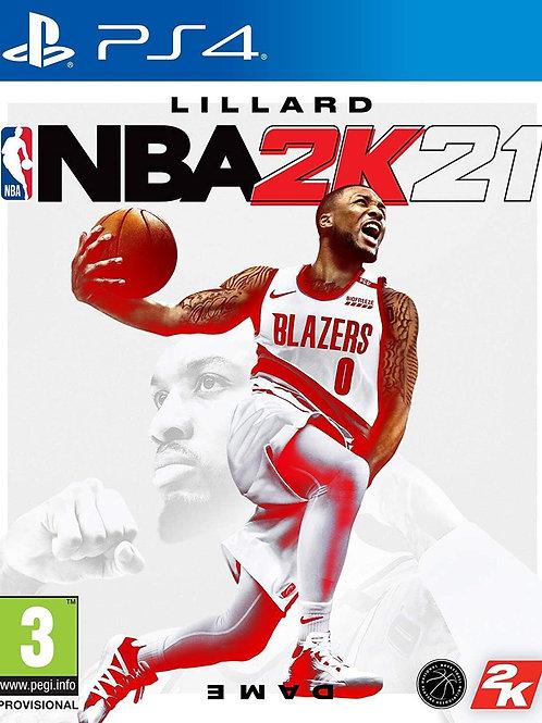 NBA 2K21 Ps4 digital