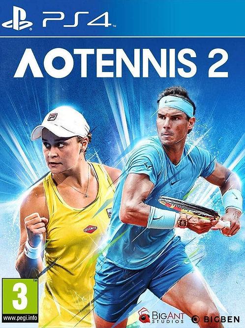 AO Tenis 2 Ps4 digital