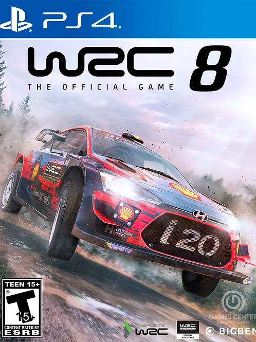 WRC 8 FIA World Rally Championship digital ps4