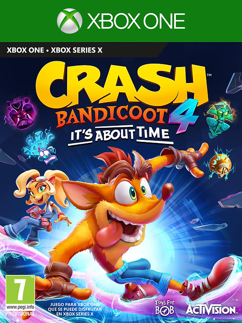 Crash Bandicoot 4 It's About Time digital Xbox One