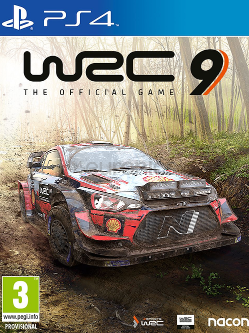 WRC 9 Ps4 digital