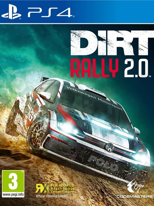 DIRT Rally 2.0 digital ps4