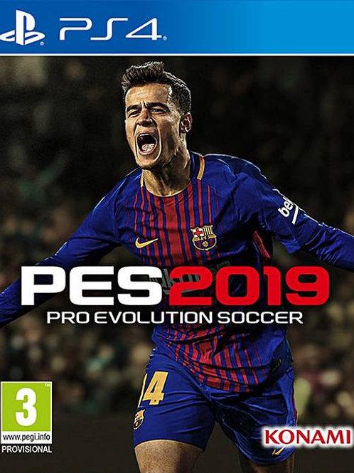 PES 2019 digital ps4