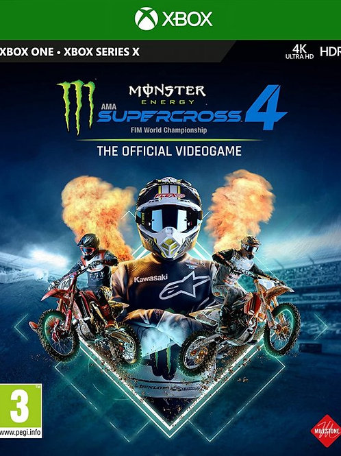 Supercross 4 digital Xbox One