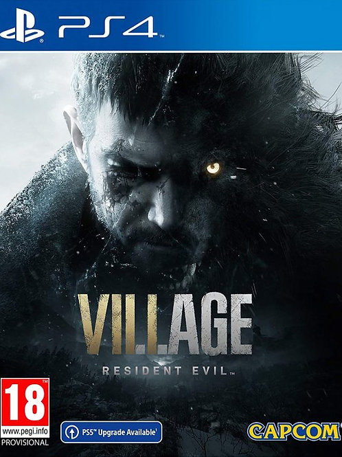 Resident Evil VILLAGE Ps4 digital