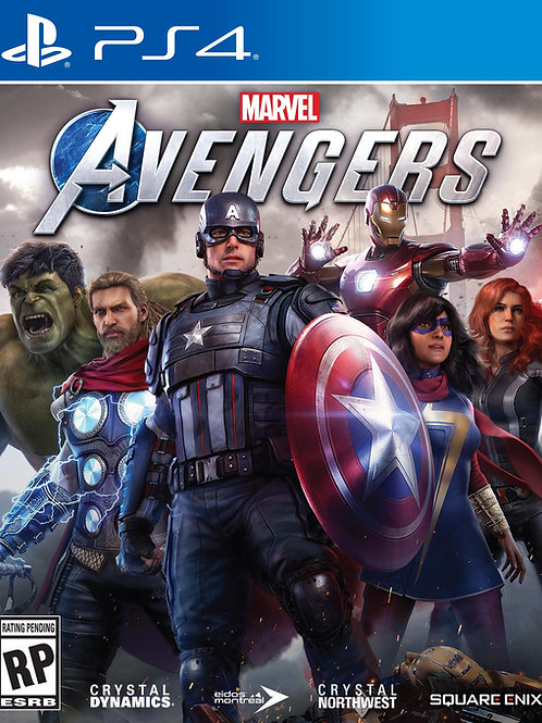 MARVEL AVENGERS Ps4 digital