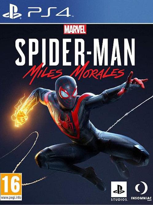 SPIDER-MAN Miles Morales Ps4 digital