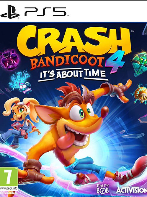 crash bandicoot™ 4: It's About Time - PS5 digital