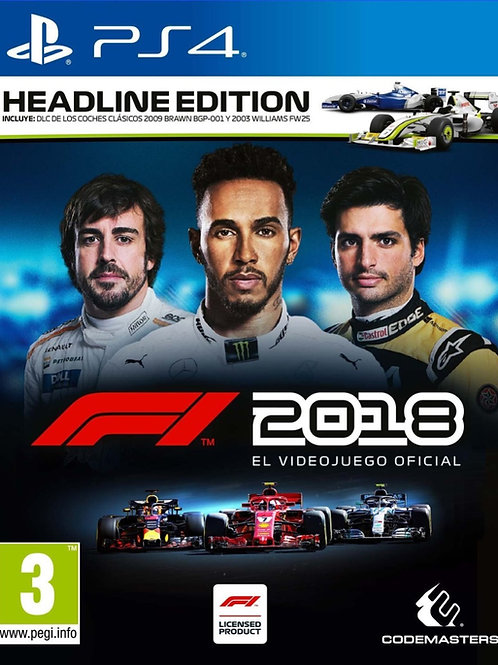 F1 2018 Ps4 digital