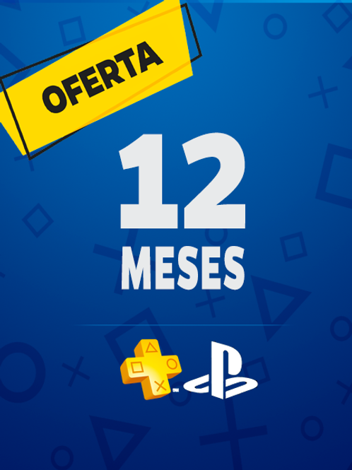 PS PLUS | 12 meses | 1 año | Ps4 - PS5