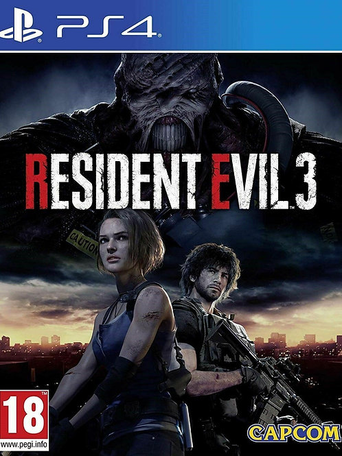 Resident Evil 3 Ps4 digital